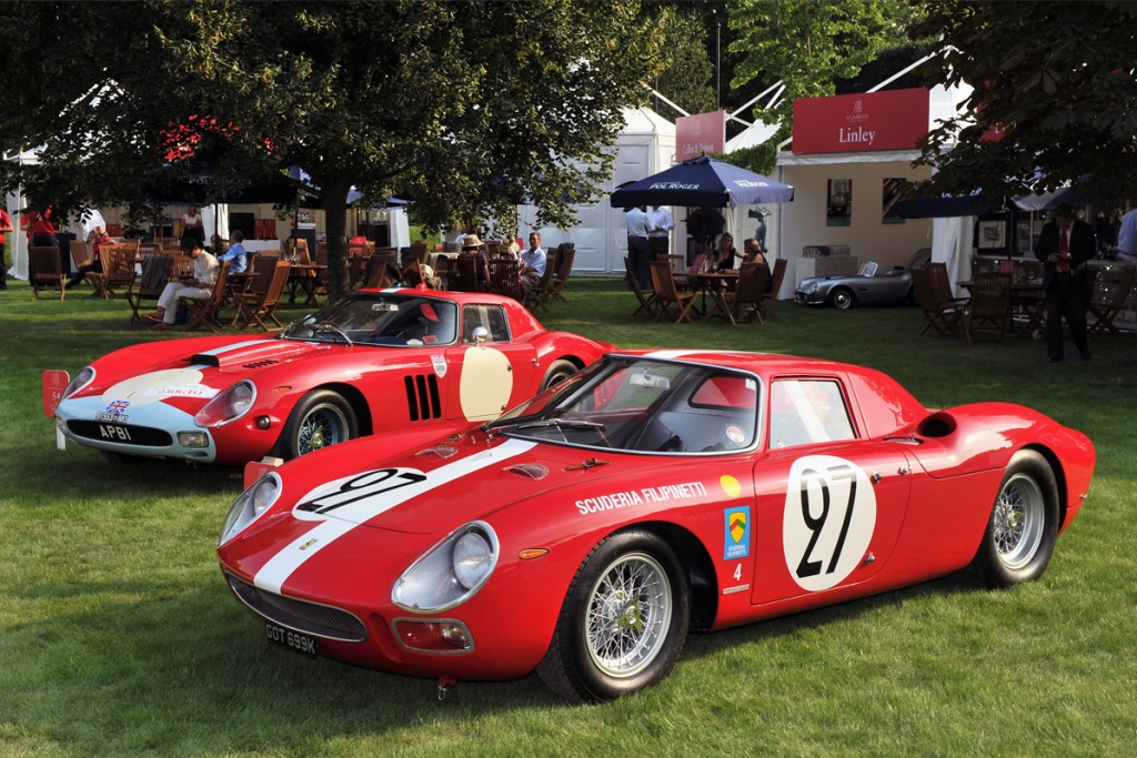 Around the World in 60 Cars at the 2014 Concours of Elegance at Hampton Court Palace
