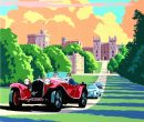 CONCOURS OF ELEGANCE REVEALS STUNNING CHARLES AVALON-DESIGNED ARTWORK