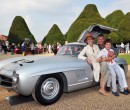 Rare Alloy Mercedes-Benz 300 SL Gullwing wins the Public Choice at the 2014 Concours of Elegance