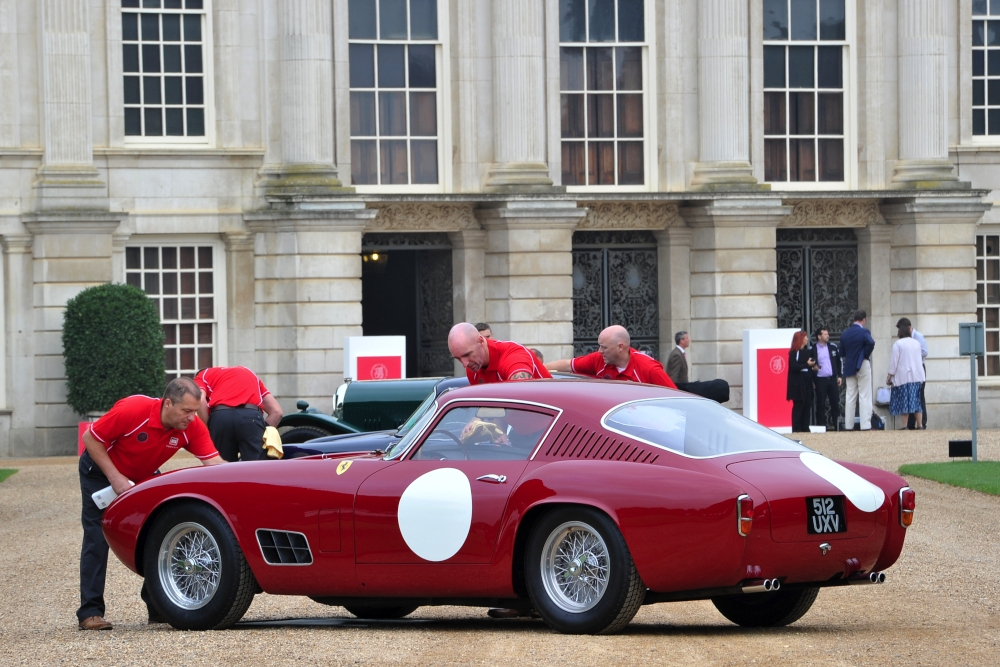 The Autoglym team at Concours of Elegance 2014