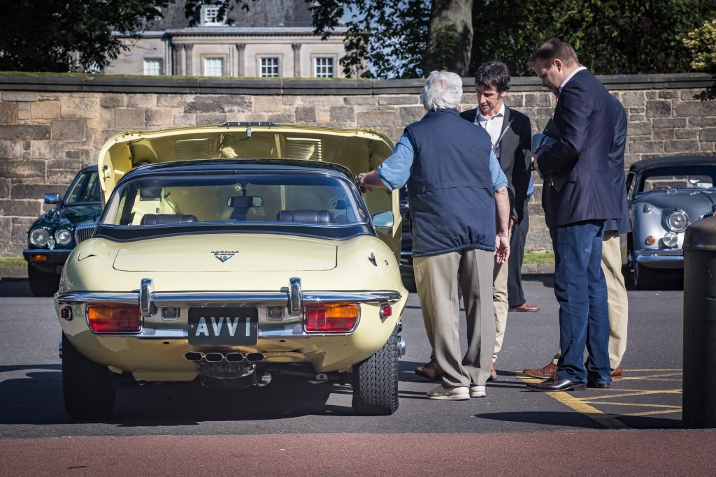 Jaguar Day Holyrood Palace Concours of Elegance 2015-1