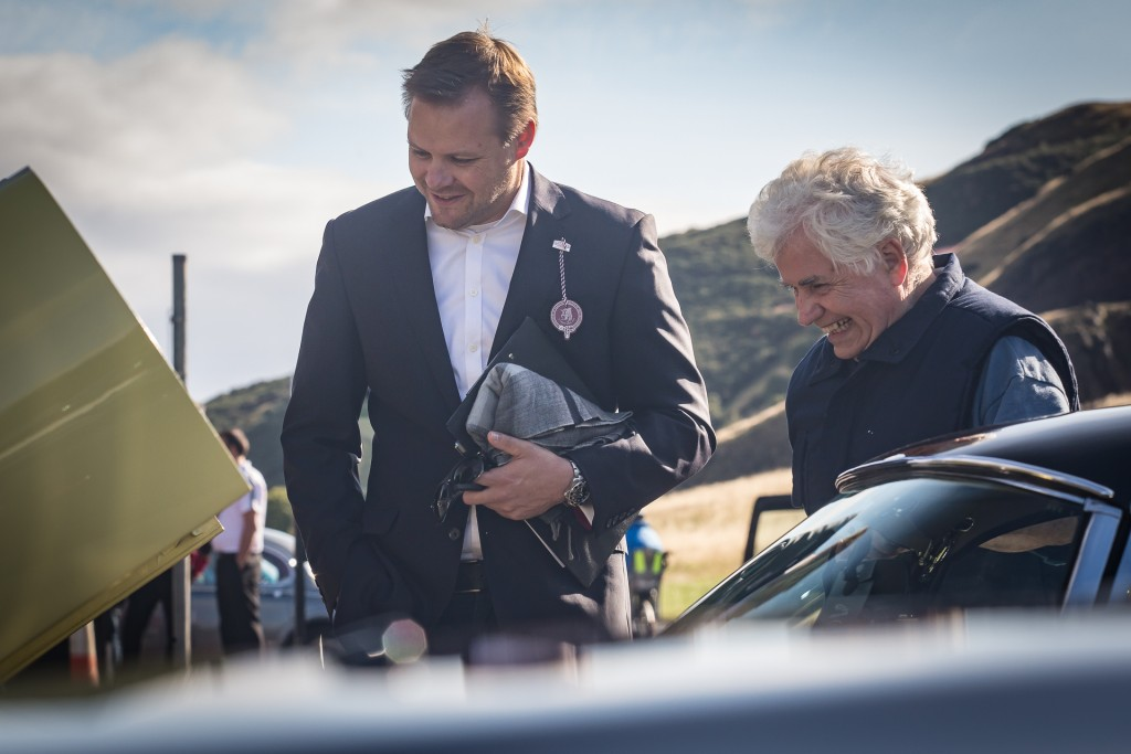 Jaguar Day Holyrood Palace Concours of Elegance 2015-2