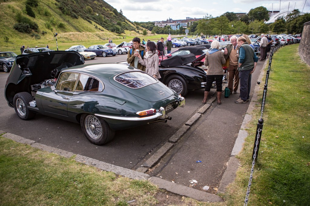 Jaguar Day Holyrood Palace Concours of Elegance 2015-21
