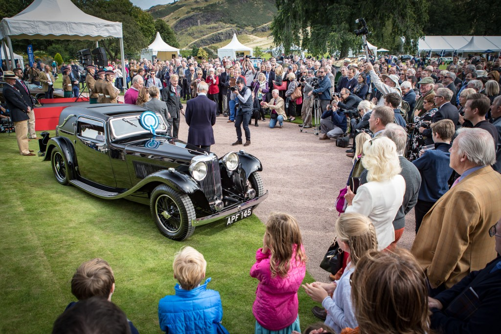 Jaguar Day Holyrood Palace Concours of Elegance 2015-24