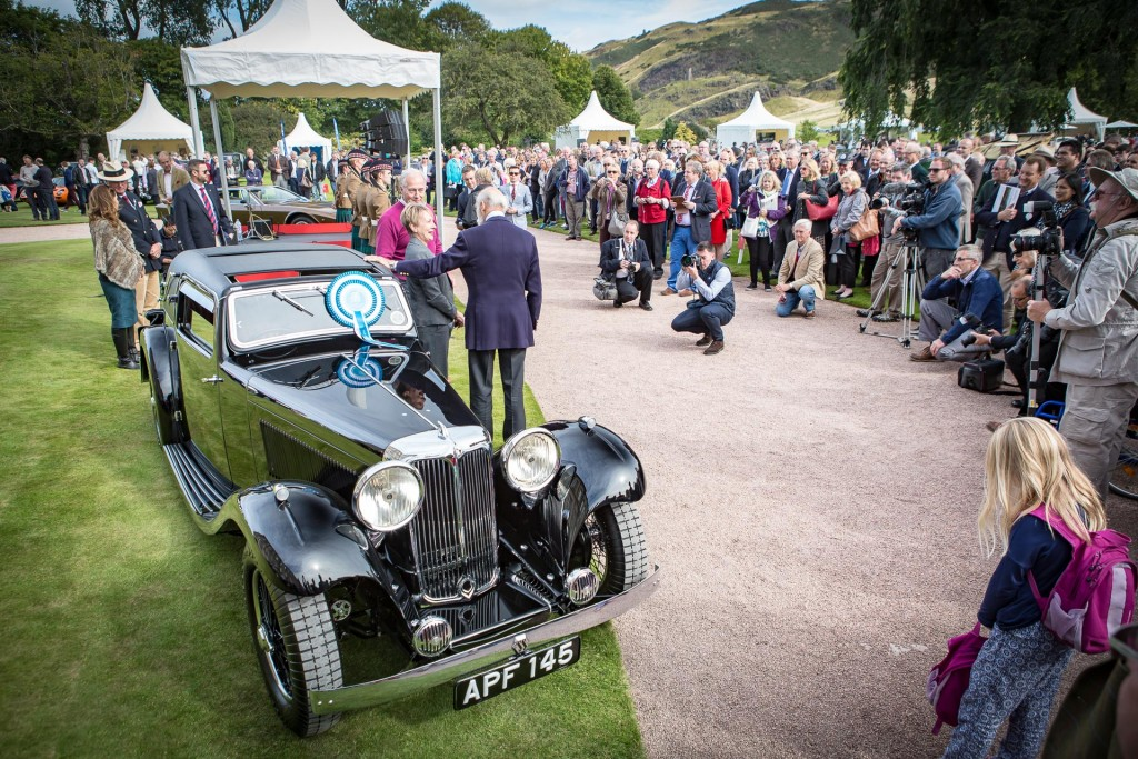 Jaguar Day Holyrood Palace Concours of Elegance 2015-26