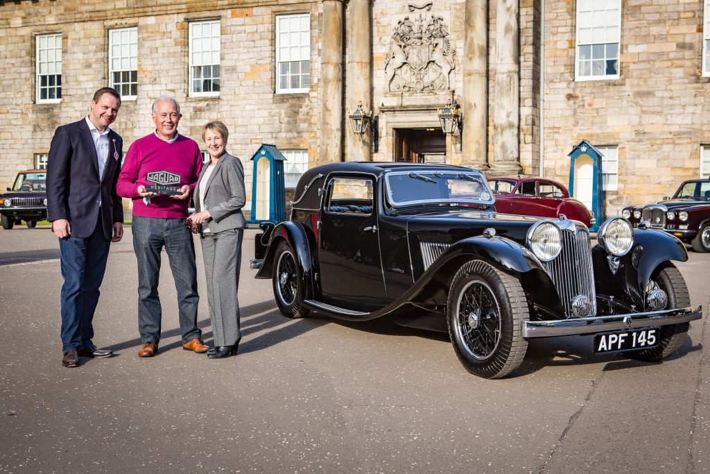 Jaguar Day Holyrood Palace Concours of Elegance 2015-48