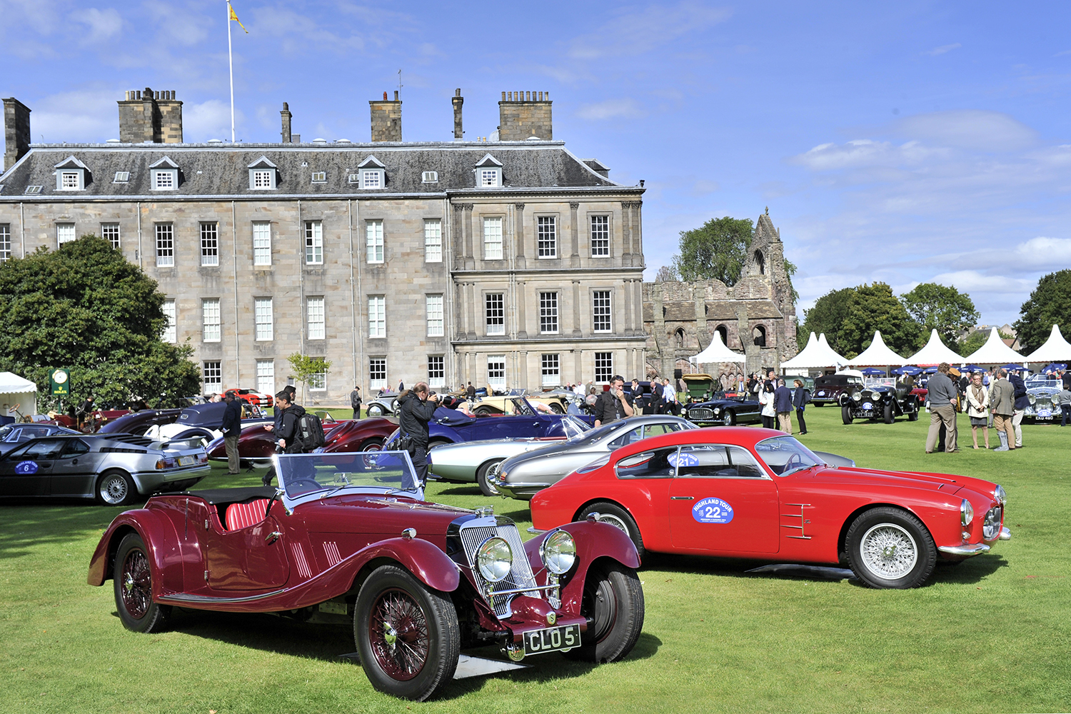 Concours of elegance wraps up a record-breaking festival of motoring royalty with 'best of show' awarded to stunning 1903 mercedes