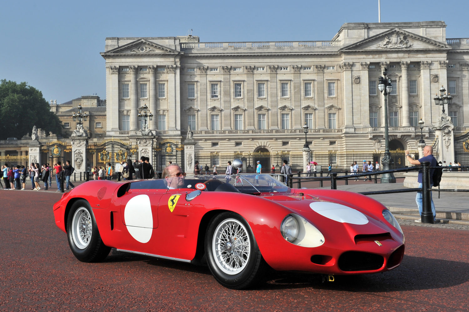 Ex-Concours of Elegance Ferrari at RM Sotheby's Monterey