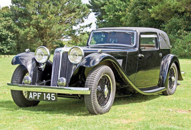 Car of the Week #20: SS1 Coupé