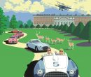 CONCOURS OF ELEGANCE POSTER REVEALS FERRARI HIGHLIGHTS