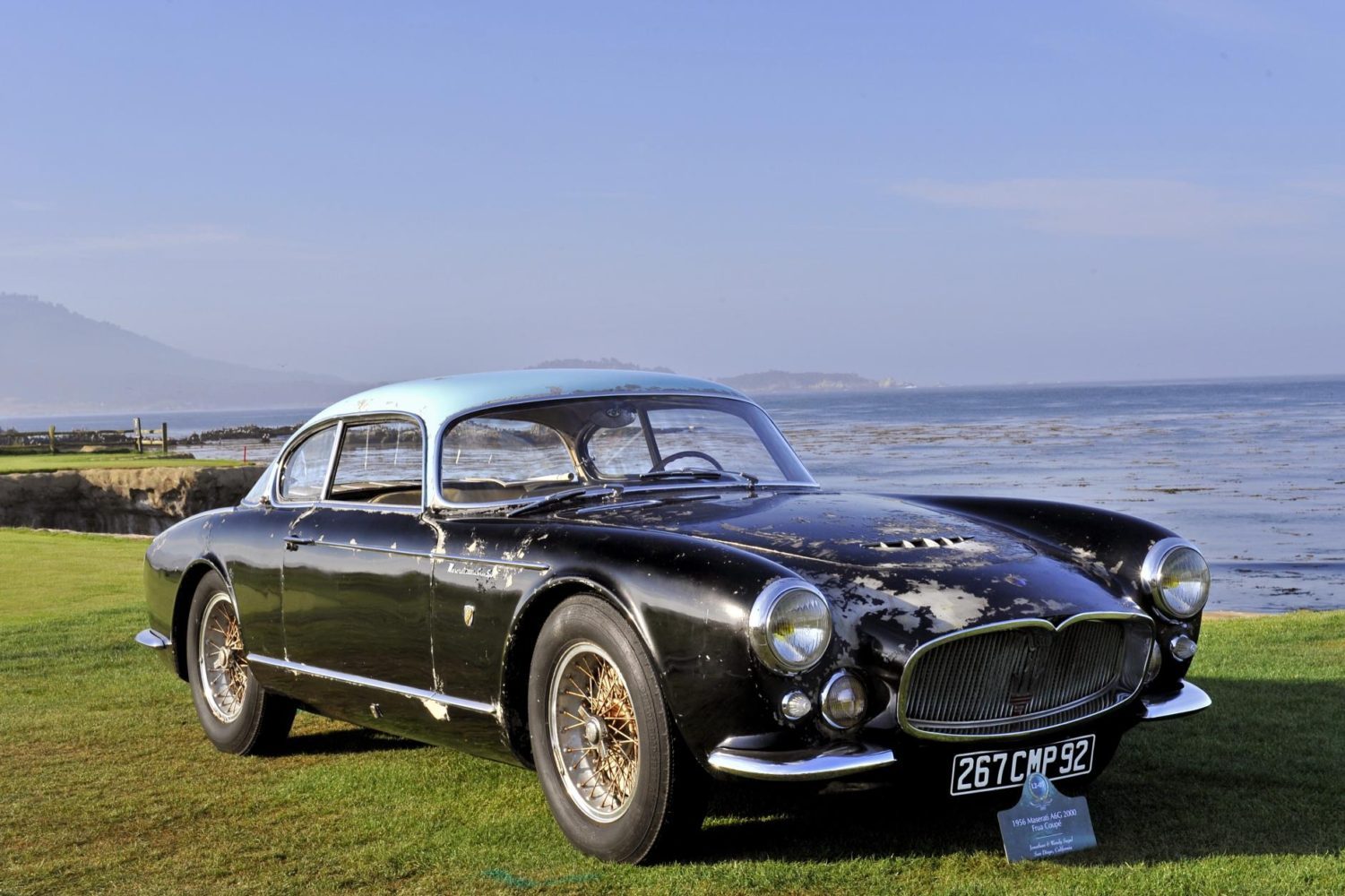 CONCOURS OF ELEGANCE TO HOST UK DEBUT OF LEGENDARY MASERATI A6G BARN FIND