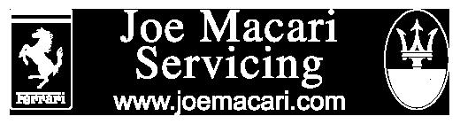 Joe Macari Servicing