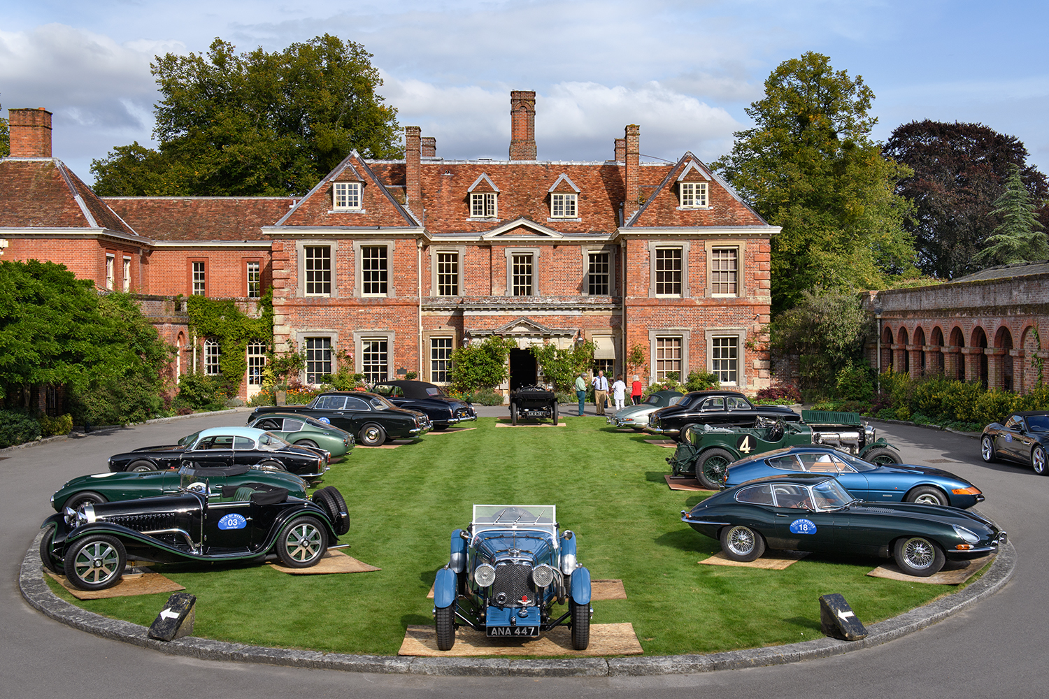 The Concours of Elegance Tour of Wessex