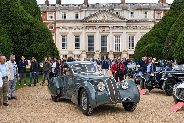 Concours of Elegance 2018: First car selection