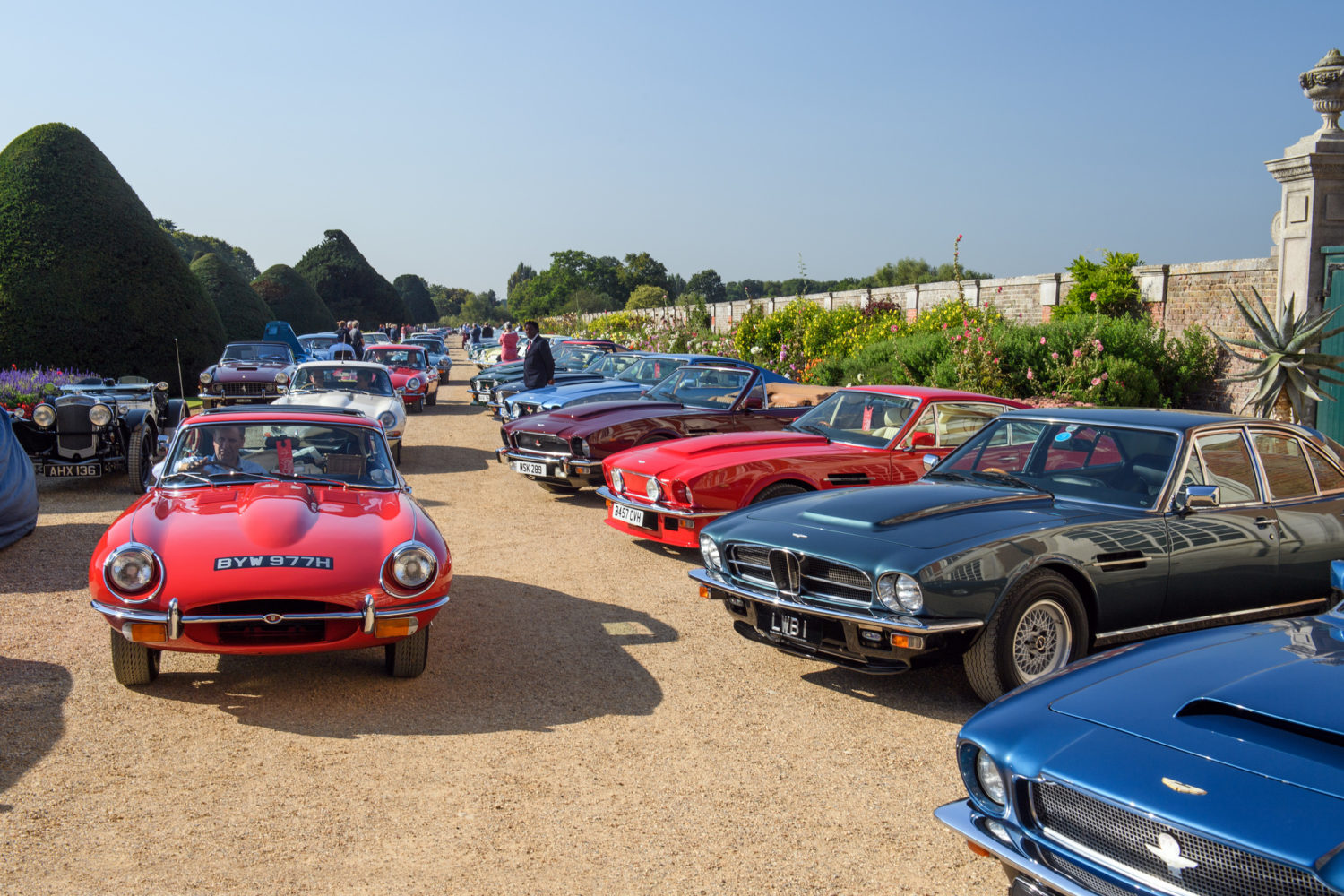 Bridge of Weir 'British Legends' at Concours 2018