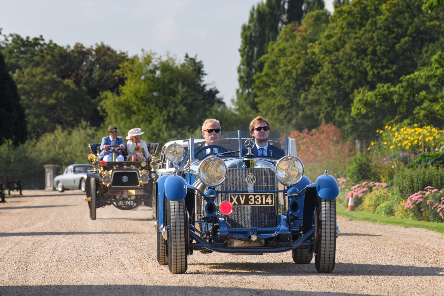 CONCOURS OF ELEGANCE WELCOMES THOUSANDS OF VISITORS ON STUNNING FIRST DAY