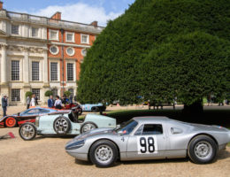 Concours of Elegance Welcomes Thousands of Visitors to Stunning First Day