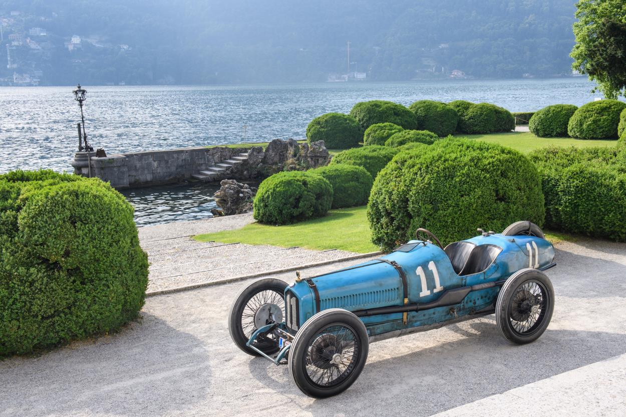 FIRST EVER ITALIAN GRAND PRIX-WINNING BALLOT 3/8 LC SET FOR CONCOURS OF ELEGANCE 2019