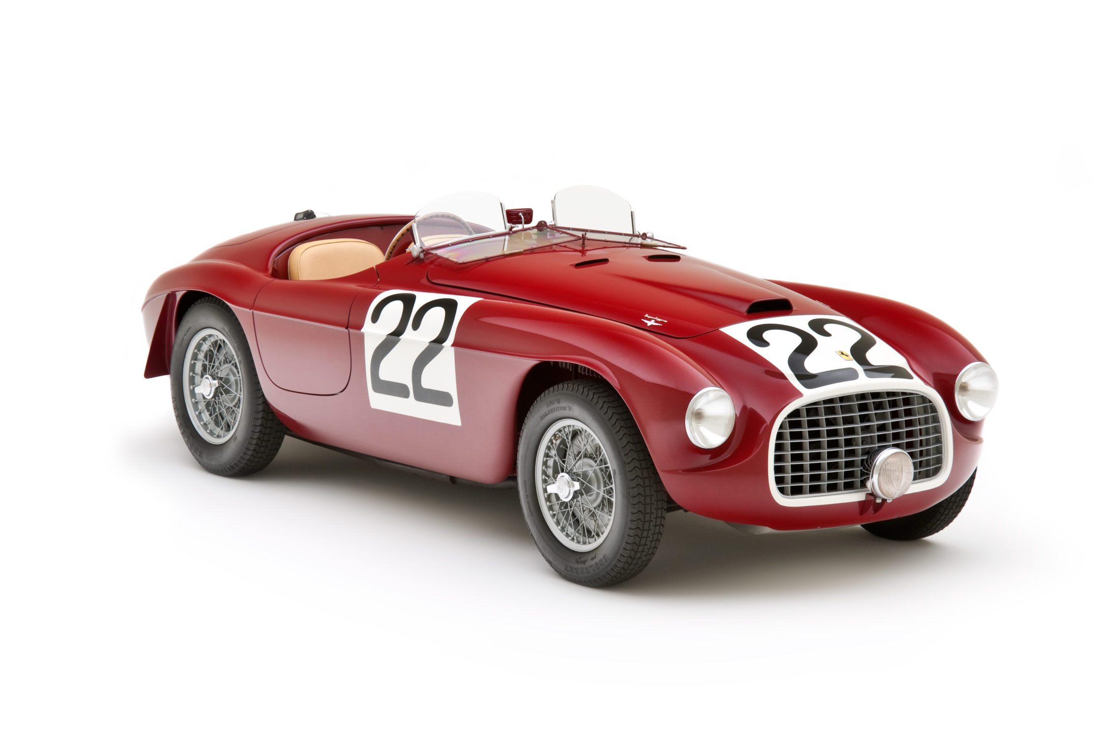 The Most Significant Ferrari in the World Joins 166MM Celebration at Concours of Elegance