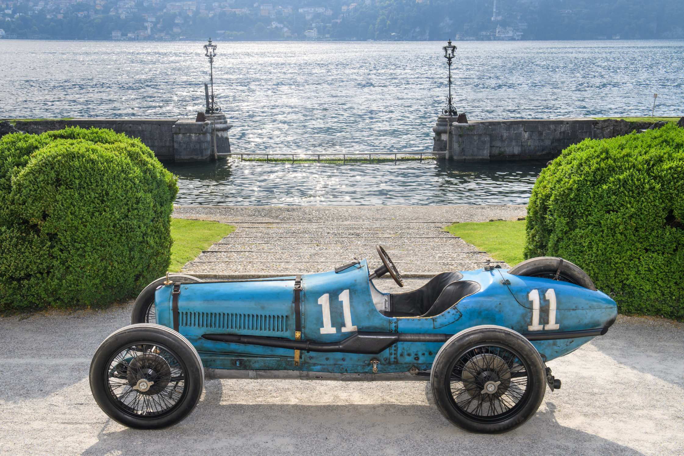 First Ever Italian Grand Prix-Winning Ballot 3/8 LC Set for Concours of Elegance