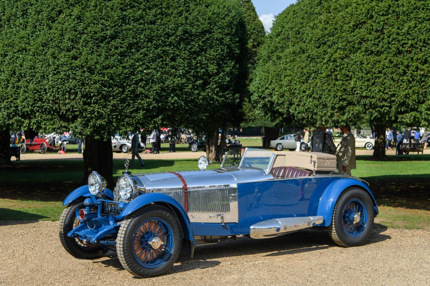 MERCEDES-BENZ S-TYPE 'BOAT TAIL' WINS BEST OF SHOW AT THE BIGGEST AND BEST CONCOURS OF ELEGANCE YET
