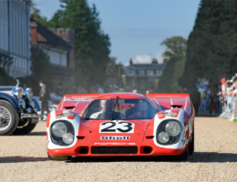 Porsche's First Le Mans 24 Hours Victor Wins Again at Concours of Elegance 2020