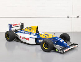 Formula One Cars Head for Hampton Court Palace