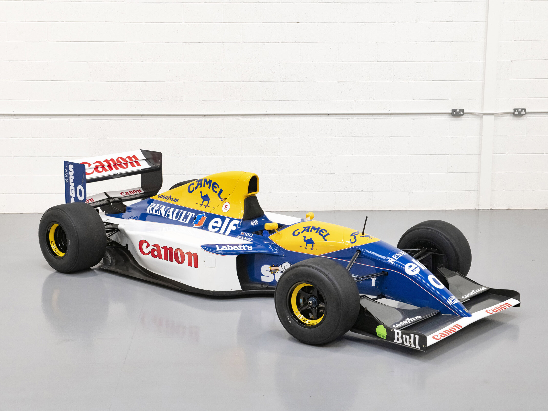 Formula One Cars Head for Hampton Court Palace